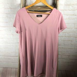 Lulus Pink Flowy Dress